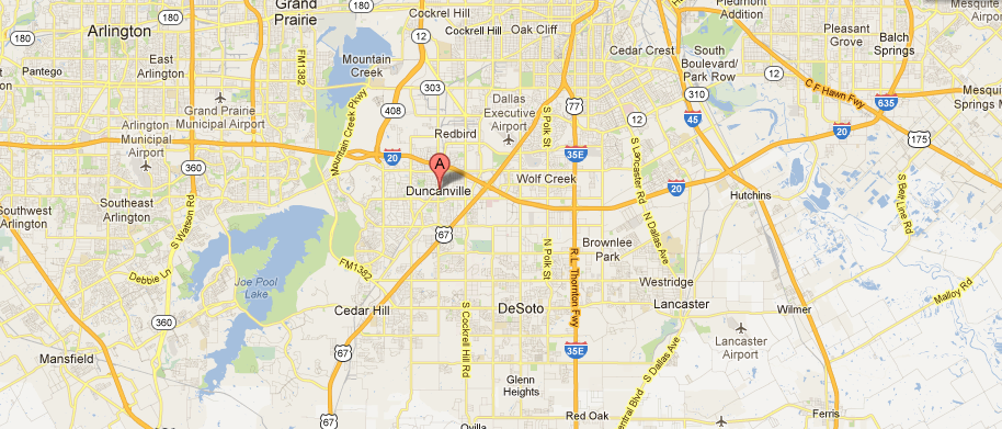 Options-Real-Estate-North-Main-Street-Duncanville-TX-Google-Maps